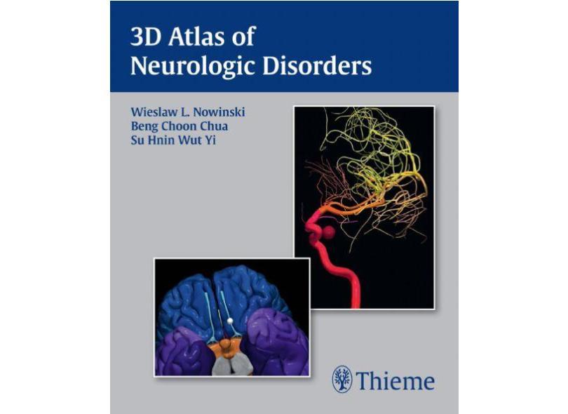 3D ATLAS OF NEUROLOGIC DISORDERS (USB FLASH DRIVE) - Nowinski - 9781626231733