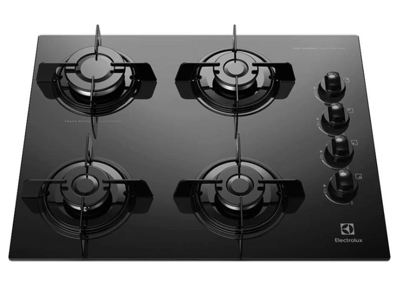 Cooktop Electrolux 4 Bocas Acendimento Superautomático KE4GP