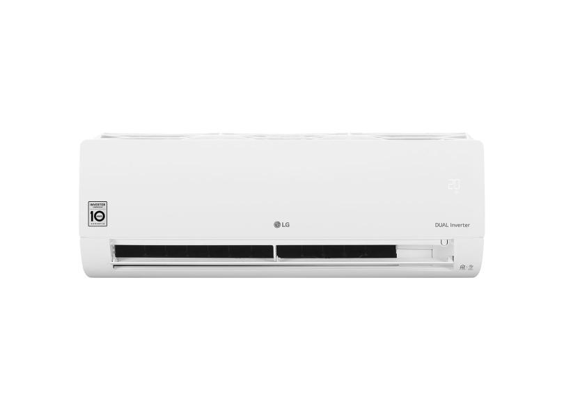 Ar Condicionado Split Hi Wall LG Dual Inverter Voice 18000 BTUs Inverter Controle Remoto Frio S4-Q18KL31A