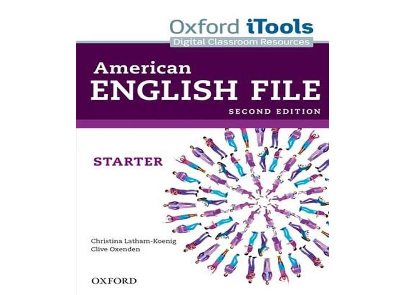 American English File Starter DVD - Starter Itools - 2ª Ed. 2013 - Oxenden, Clive; - 9780194775540