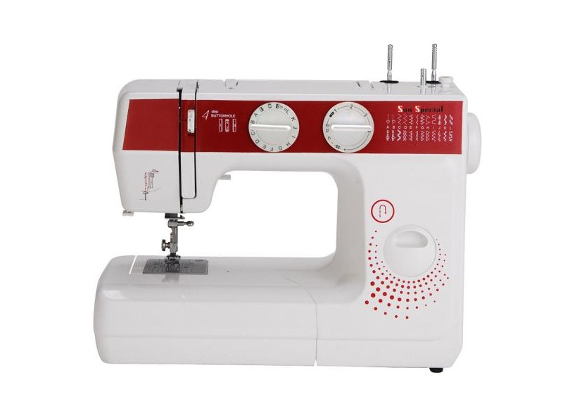 Máquina de Costura Doméstica Pontos Decorativos Sun Lady SS-988 - Sun Special