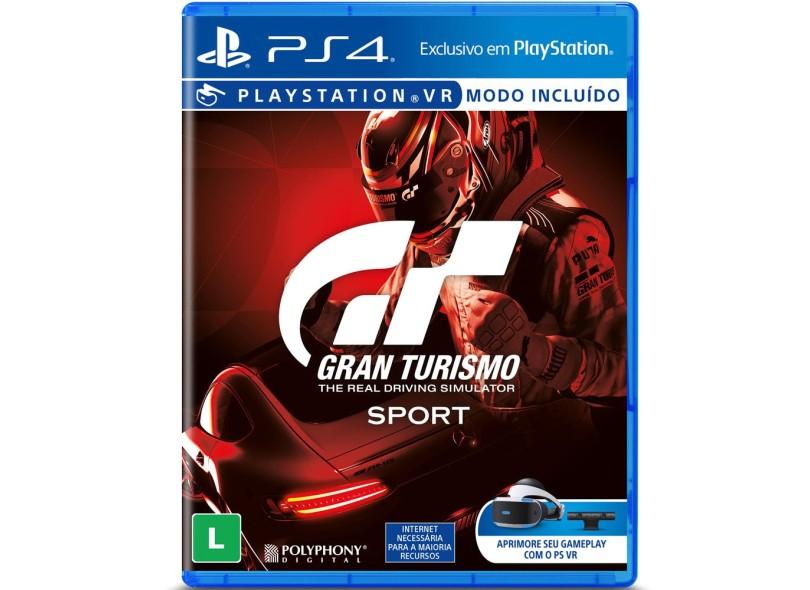 Jogo Gran Turismo Sport PS4 Sony