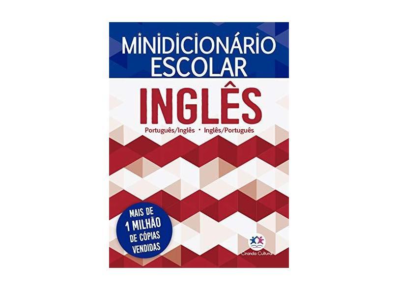 Minidicionário Escolar Inglês - Cultural, Ciranda - 9788538073949