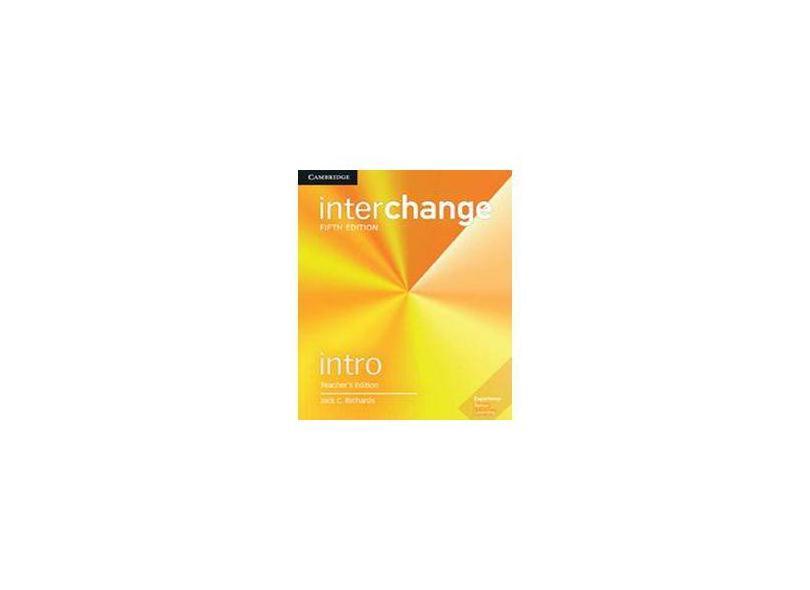 Interchange Intro Teacher's Edition - Jack C. Richards - 9781108406055