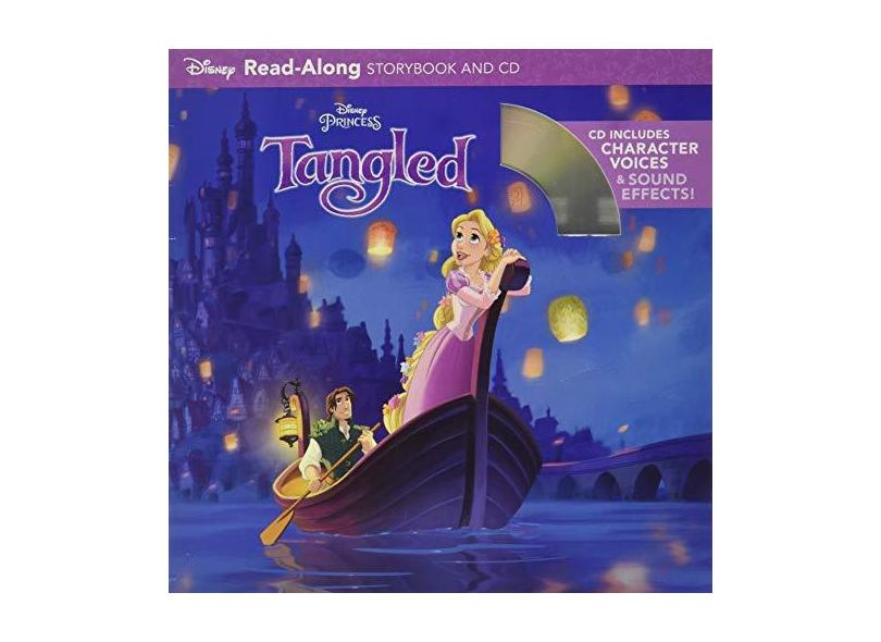 Tangled Read-Along Storybook and CD - Disney Book Group - 9781423137429