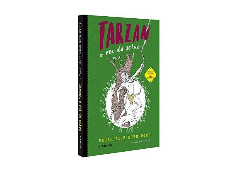 Tarzan, O Rei Da Selva - Burroughs, Edgar Rice - 9788551302743