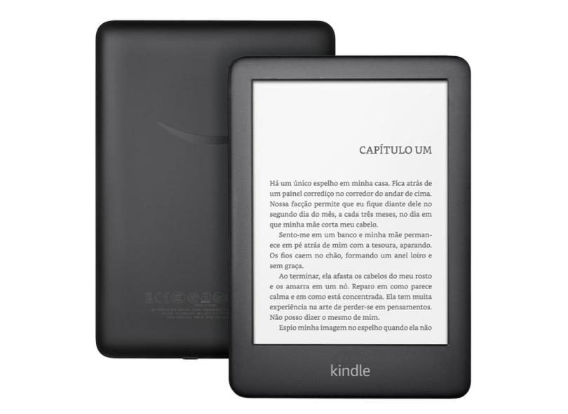 "E-Book Reader Kindle 8.0 GB 6.0 "" 10ª Geração - Amazon"