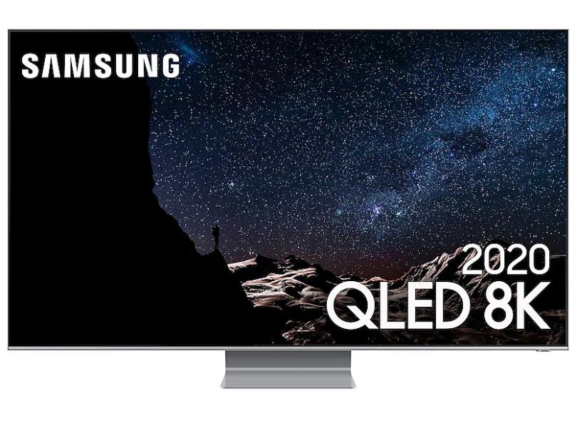 "Smart TV TV QLED 75.0 "" Samsung 8K QN75Q800TAGXZD 4 HDMI"