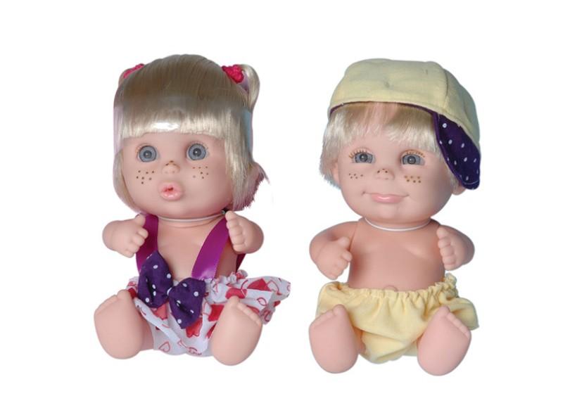 Boneca Babies Twins Candide