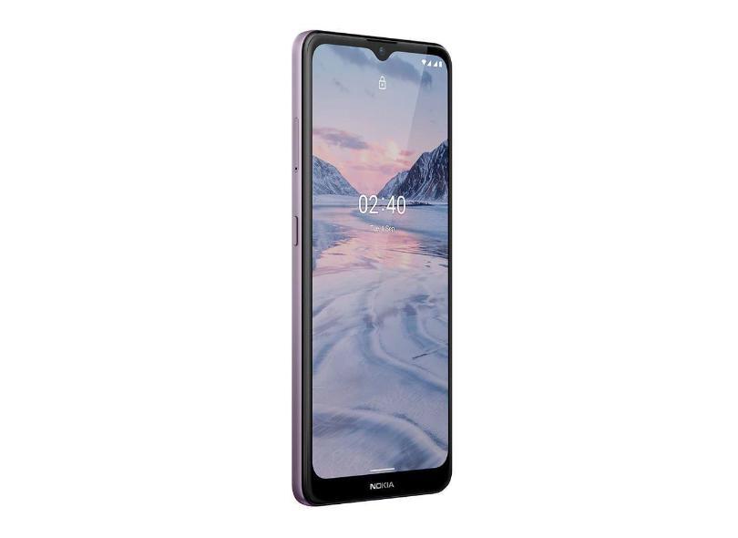 Smartphone Nokia 2.4 Nk015 3 GB 64GB Câmera Dupla 2 Chips Android 11
