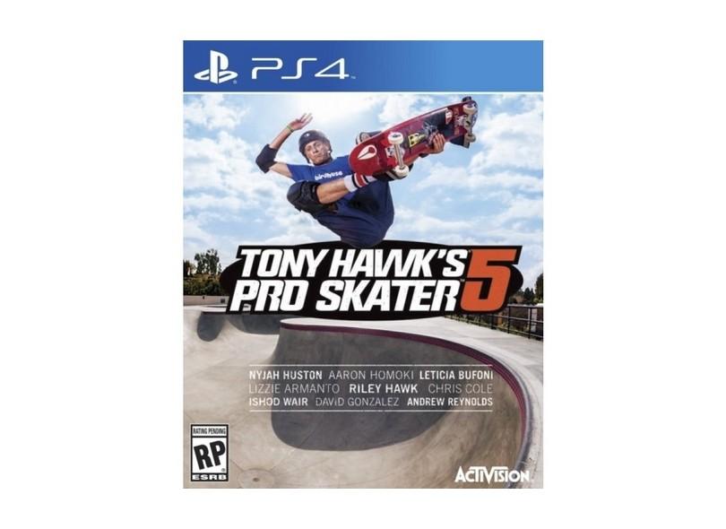 Jogo Tony Hawk`s 5 PS4 Activision