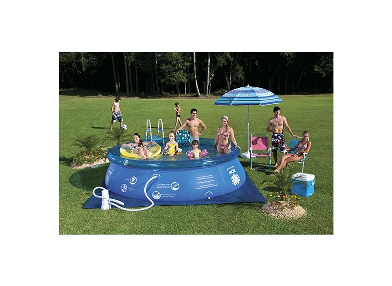Piscina Inflável 7800 l Redonda Mor Splash Fun 1068