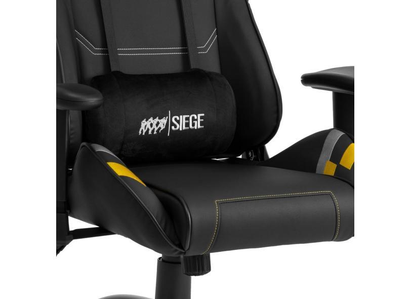 Cadeira Gamer Reclinável Rainbow Six Elise Black DT3sports