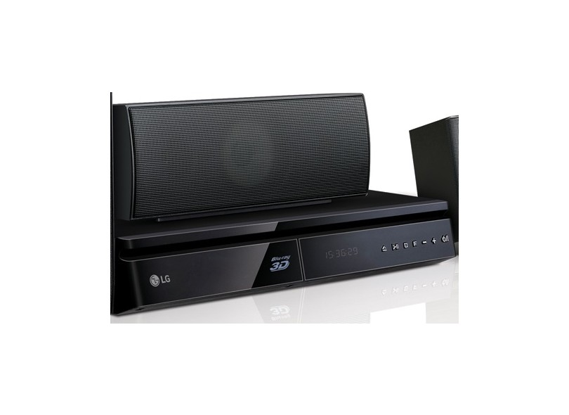 Home Theater LG com Blu-Ray 3D 1000 W 5.1 Canais LHB625M
