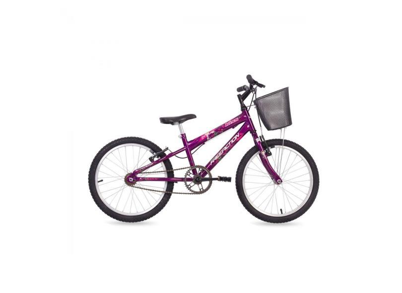 Bicicleta Mormaii Aro 20 V-Brake Kiss com Cesta