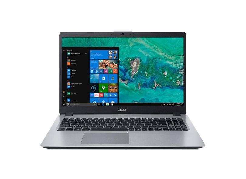 """Notebook Acer Aspire 5 Intel Core i5 8265U 8ª Geração 8 GB de RAM 256.0 GB 15.6 """" Windows 10 A515-52-536H"""
