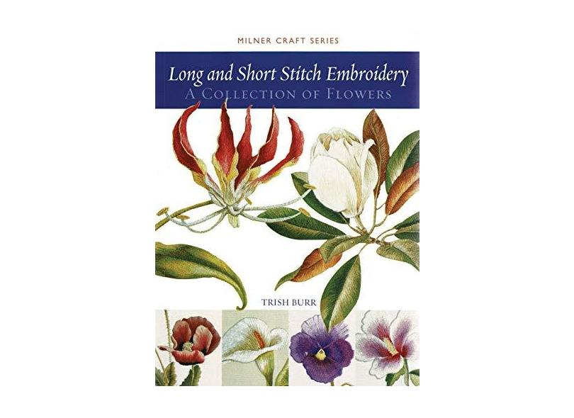 """Long And Short Stitch Embroidery - """"burr, Trish"""" - 9781863513524"""