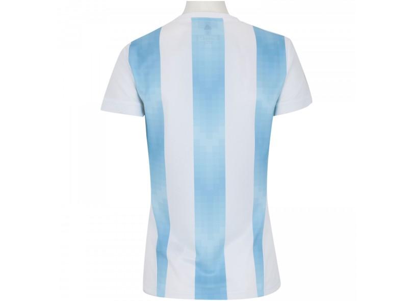 Camisa Torcedor Feminina Argentina I 2018/19 sem Número Adidas