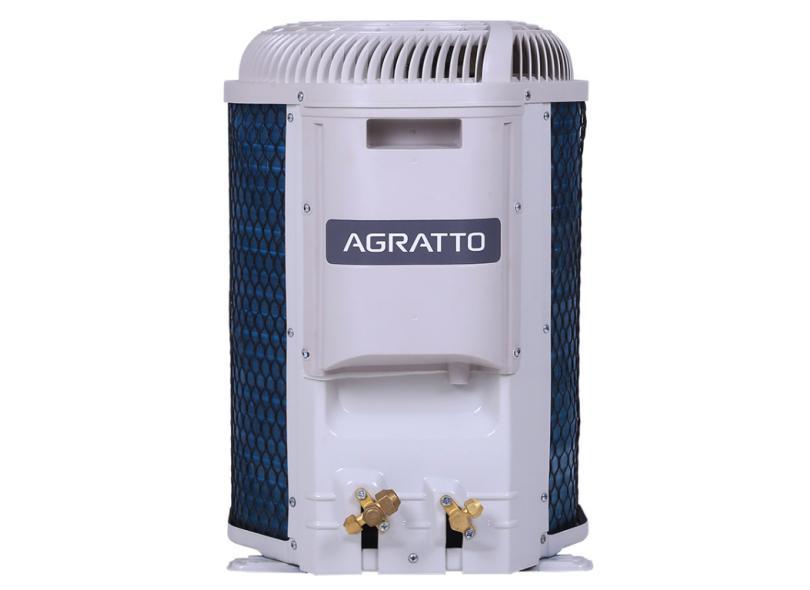 Ar-Condicionado Split Hi Wall Agratto Neo 9000 BTUs Inverter Controle Remoto Quente/Frio Top ICST9QFR4-02