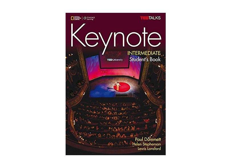 Keynote - Bre - Intermediate - Student Book + Dvd-Rom + Myelt Online Workbook, Printed Access Code - Paul Dummett - 9781305880610