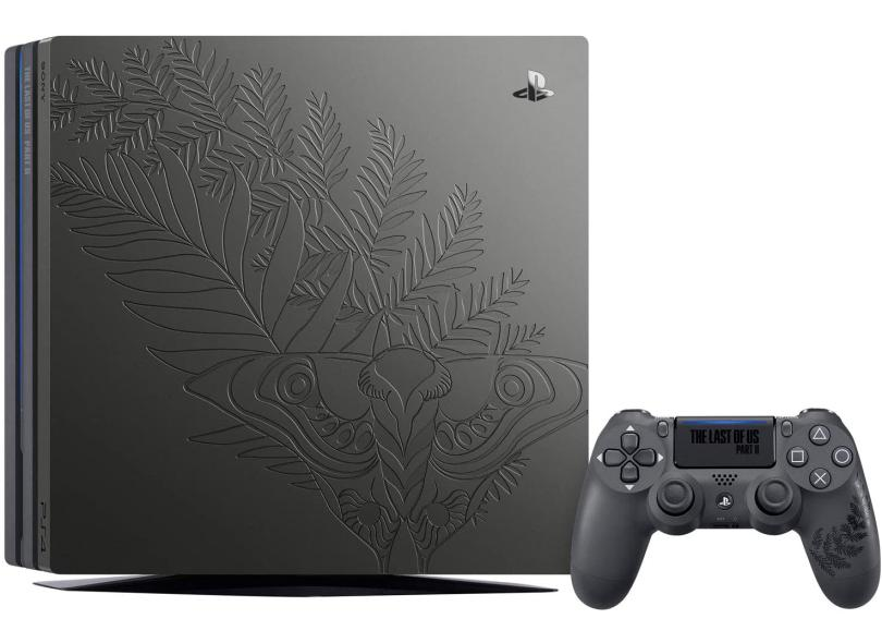 Console Playstation 4 Pro 1 TB Sony Limited Edition: The Last of Us Part ll 4K HDR