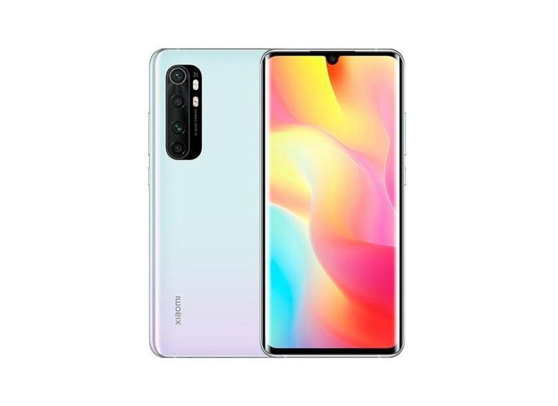 Smartphone Xiaomi Mi Note 10 Lite 6GB RAM 128GB Câmera Quádrupla Qualcomm Snapdragon 730G 2 Chips Android 10