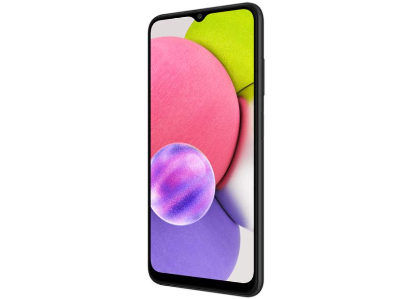 Smartphone Samsung Galaxy A03s SM-A037M 4.0 GB 64GB Câmera Tripla 2 Chips Android 11