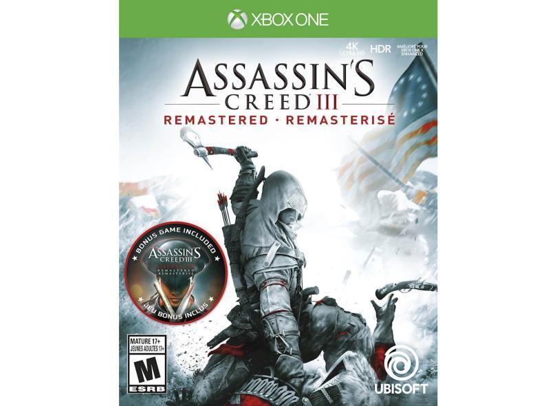 Jogo Assassins Creed 3 Xbox One Ubisoft