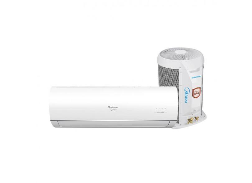 Ar-Condicionado Split Hi Wall Springer Midea AirVolution Inverter 9000 BTUs Inverter Controle Remoto Quente/Frio 42MAQT09S5 / 38TQA09S5