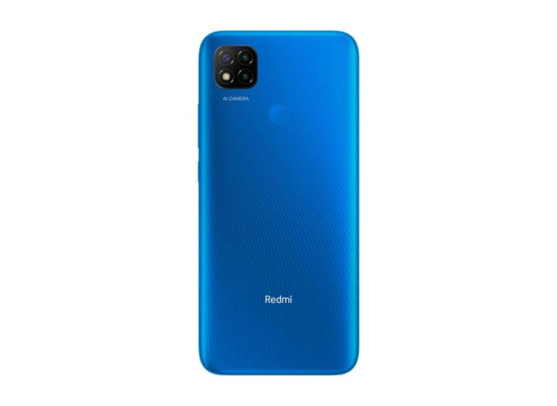 Smartphone Xiaomi Redmi 9C 32GB Câmera Tripla MediaTek Helio G25 2 Chips Android 10