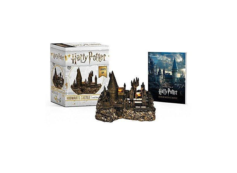 Harry Potter Hogwarts Castle And Sticker Book - Lights Up! - Miniature Editions - Press,running - 9780762464401