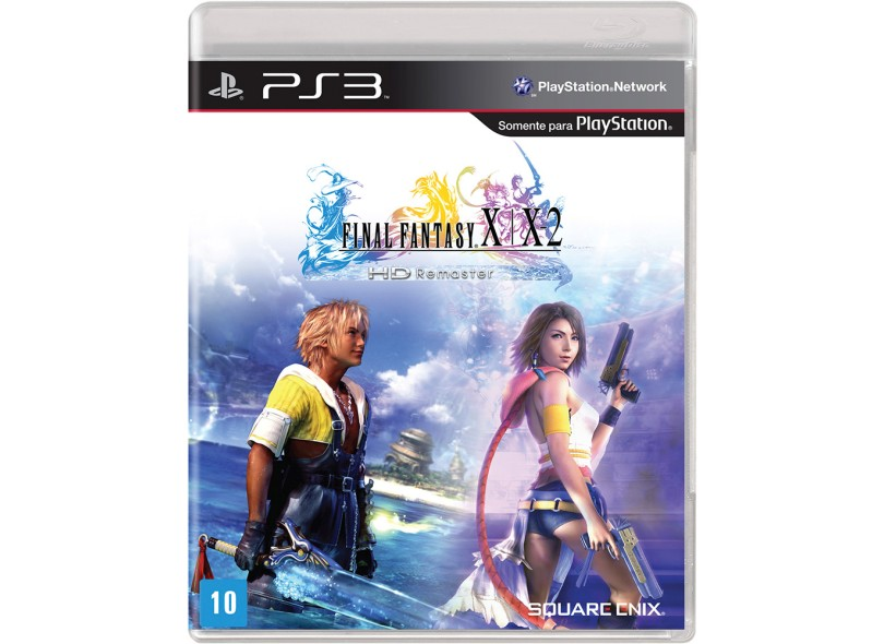Jogo Final Fantasy X/X-2 HD PlayStation 3 Square Enix