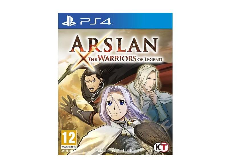 Jogo Arslan PS4 Tecmo