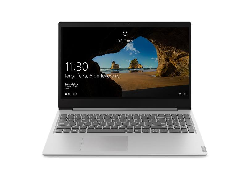 "Notebook Lenovo IdeaPad S145 Intel Core i5 8265U 8ª Geração 8.0 GB de RAM 256.0 GB 15.6 "" GeForce MX110 Windows 10 81S9000LBR"