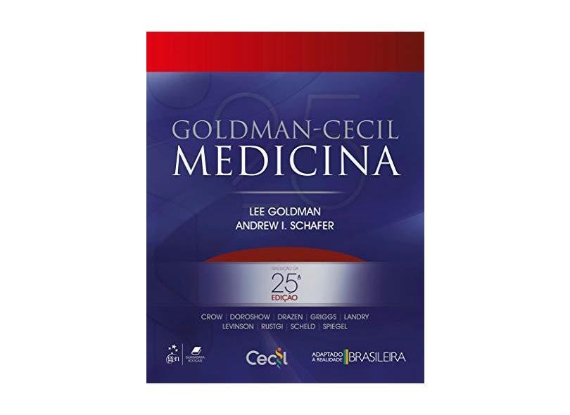 Goldman-Cecil Medicina - Vol. 1 E 2 - 25ª Ed. 2018 - Goldman,lee - 9788535284904