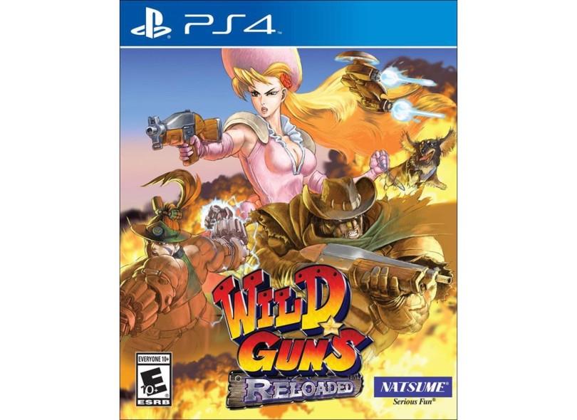 Jogo Wild Guns Reloaded PS4 Natsume