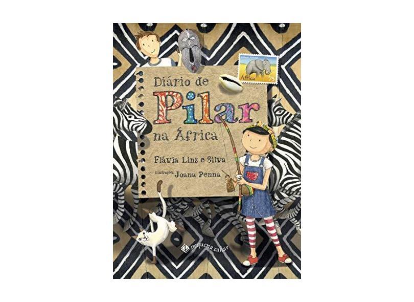 Diário de Pilar na África - Capa Comum - 9788566642414