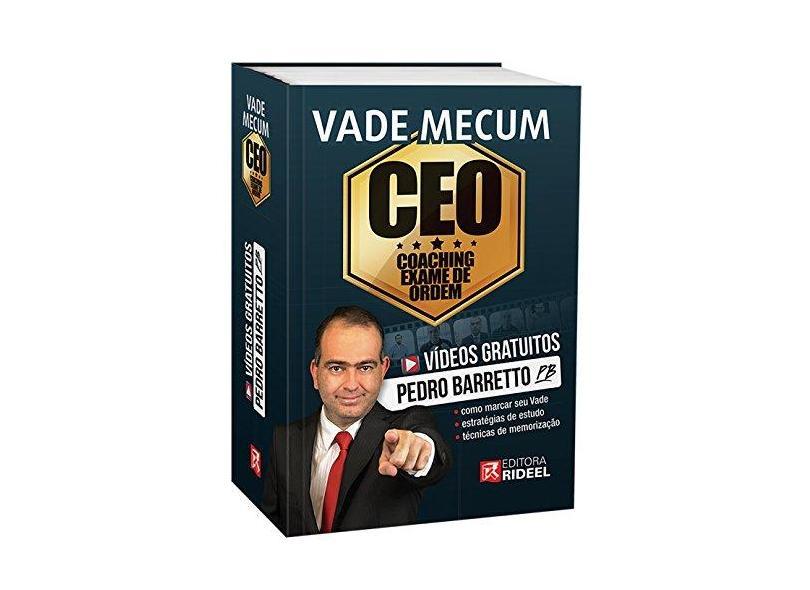 Vade Mecum Ceo - Coaching Exame de Ordem - Pedro Barretto - 9788533952898