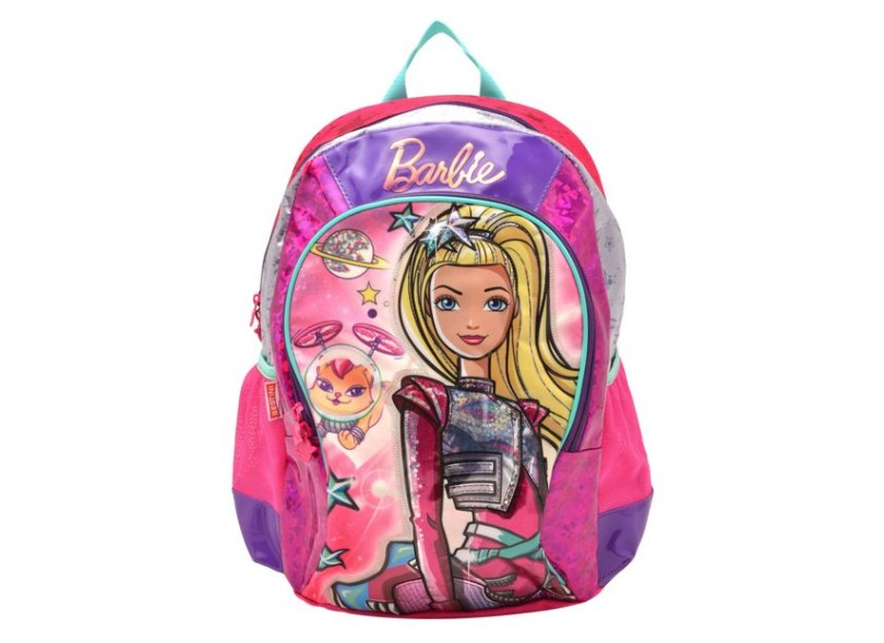 Mochila Escolar Sestini Barbie Barbie Aventura nas Estrelas G 64738