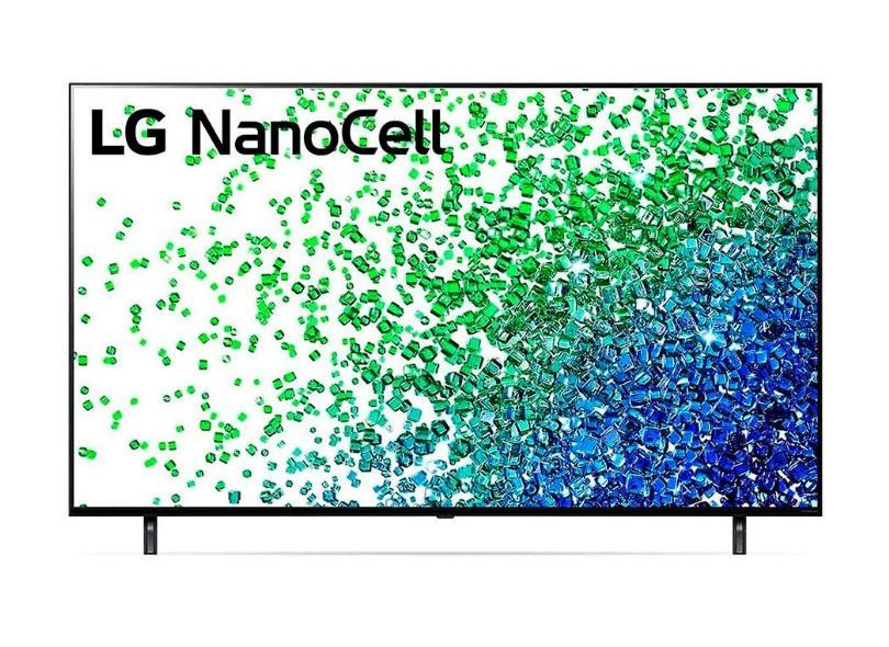 """Smart TV TV Nano Cristal 65 """" LG ThinQ AI 4K HDR 65NANO80SPA 4 HDMI"""