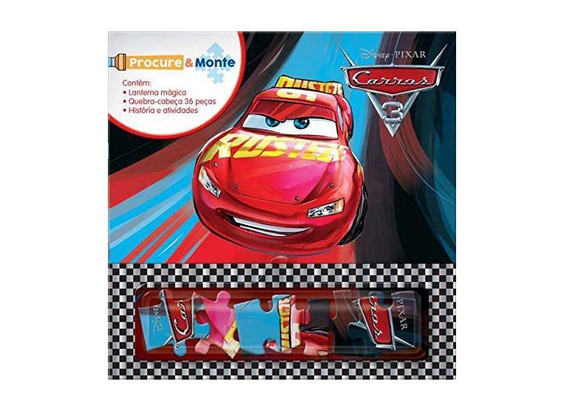 Carros 3 - Coleção Disney Procure e Monte - Vários Autores - 9788533951488