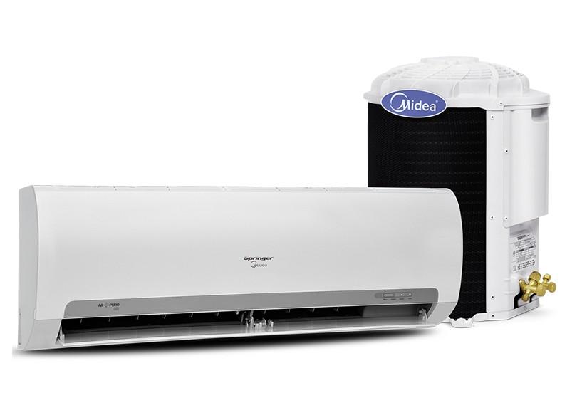 Ar Condicionado Split Hi Wall Springer Midea 22000 BTUs Controle Remoto Quente/Frio 42MAQA22S5 / 38KQX22S5