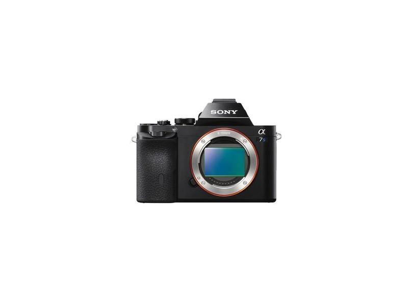 Câmera Digital Sony Alpha 12.2 MP Full HD A7S