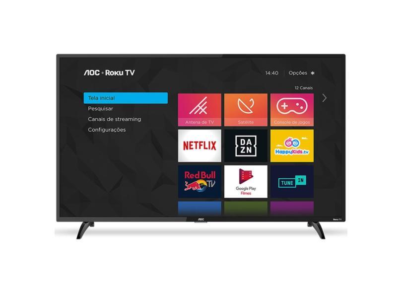 "Smart TV TV LED 43 "" AOC Full Netflix 43S5195 3 HDMI"