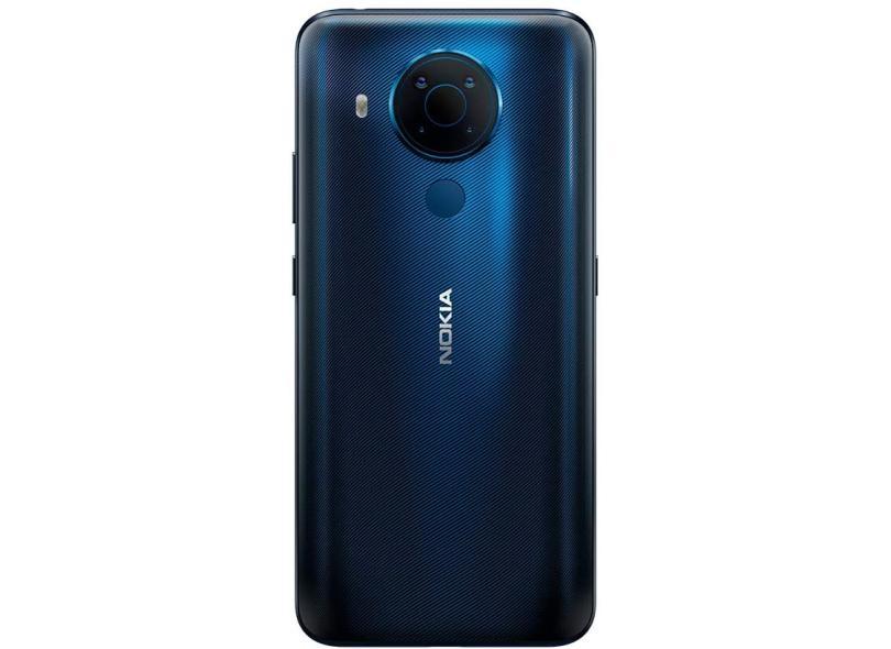 Smartphone Nokia 5.4 NK02 128GB Câmera Quádrupla Android 10