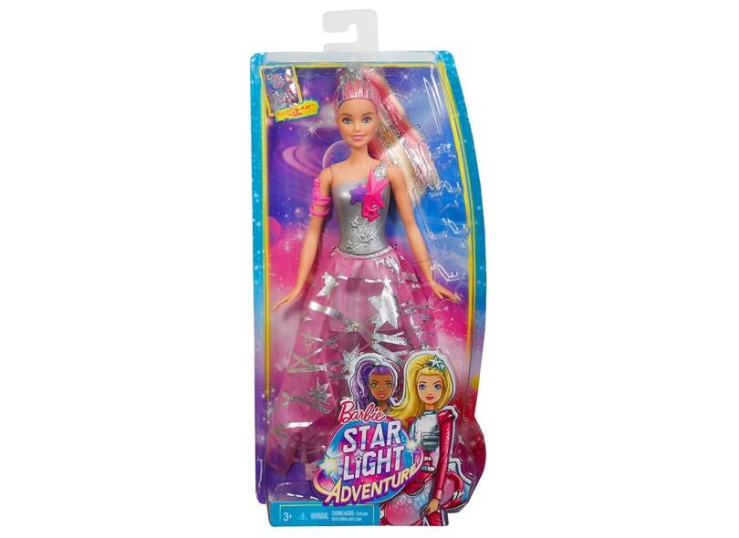 Boneca Barbie Aventura nas Estrelas Vestido Galactico Mattel