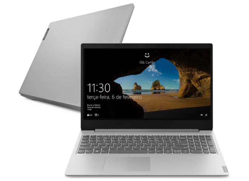 "Notebook Lenovo IdeaPad S145 Intel Celeron N4020 4 GB de RAM 128.0 GB 15.6 "" Windows 10 81WT0006BR"