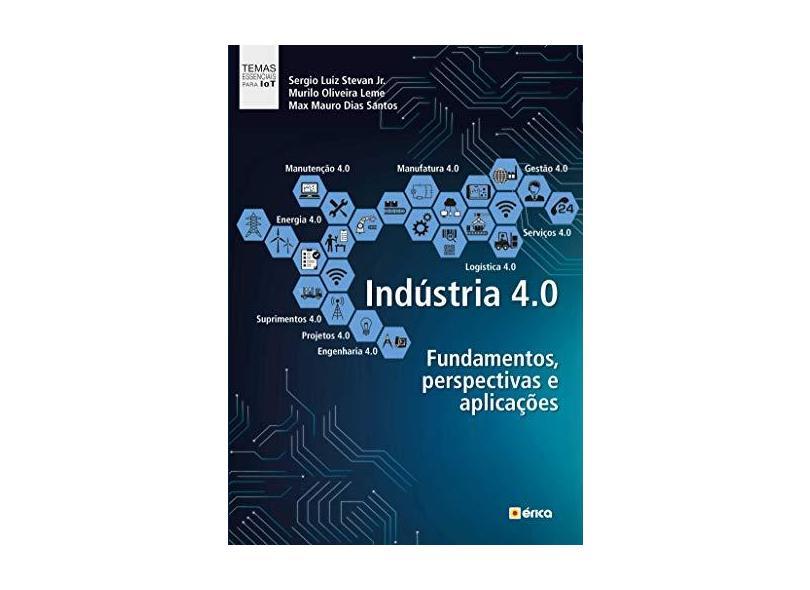 INDUSTRIA 4.0 - FUNDAMENTOS, PERSPECTIVAS e APLICACOES - Sergio L. Stevan Jr. - 9788536527208