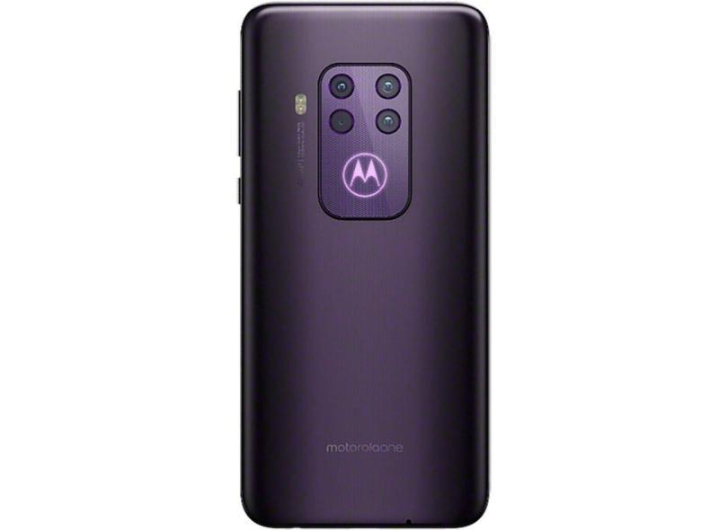 Smartphone Motorola MotorolaOne Zoom XT2010-1 128GB Câmera Quádrupla Qualcomm Snapdragon 675 Android 9.0 (Pie)