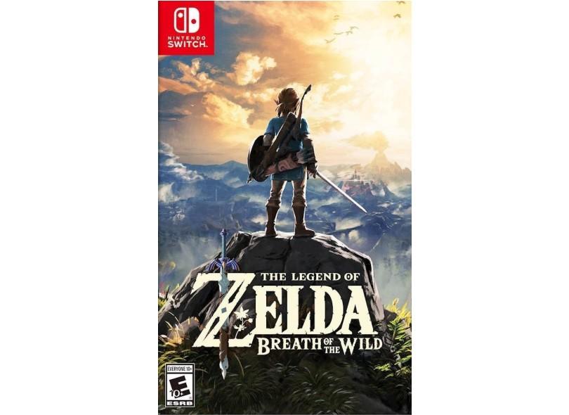 Jogo The Legend of Zelda Breath of the Wild Nintendo Nintendo Switch